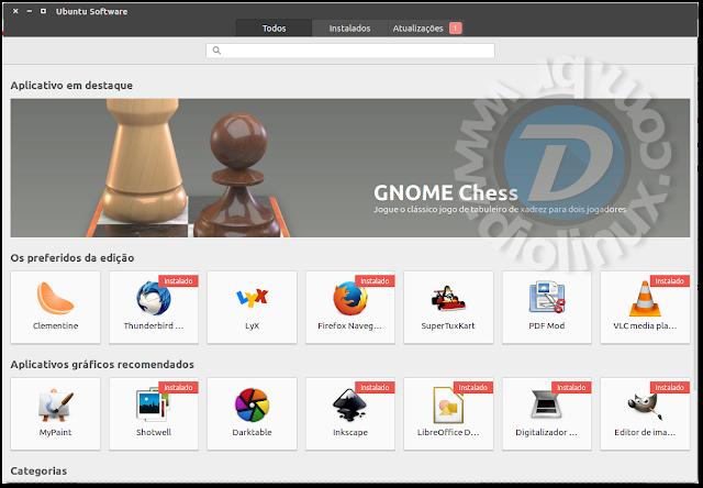 Ubuntu Software com problema dos Debs corrigido
