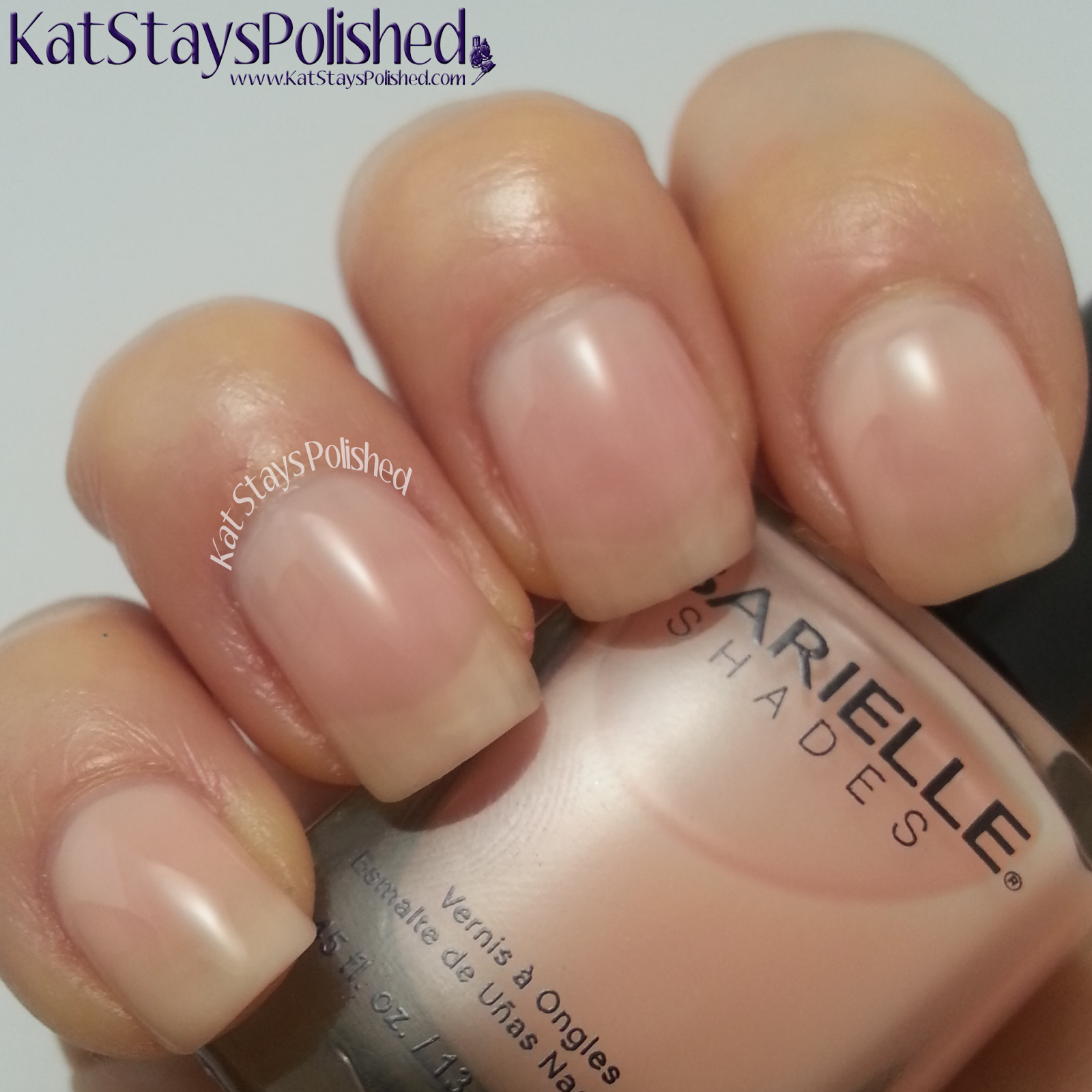 Barielle Spring Velvets 2014 - Cream 'N Sugar | Kat Stays Polished