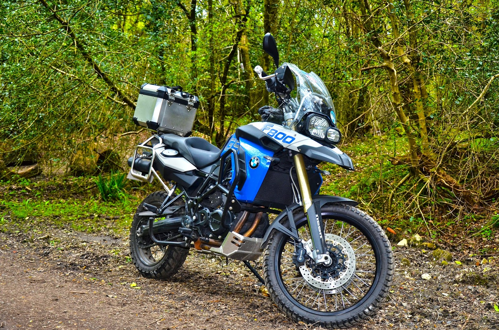 Two And A Half Years On With The F800gs Gelande Strassetastic