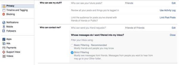 Hướng Dẫn Cách Chặn Tin Nhắn Rác Trên Facebook 1