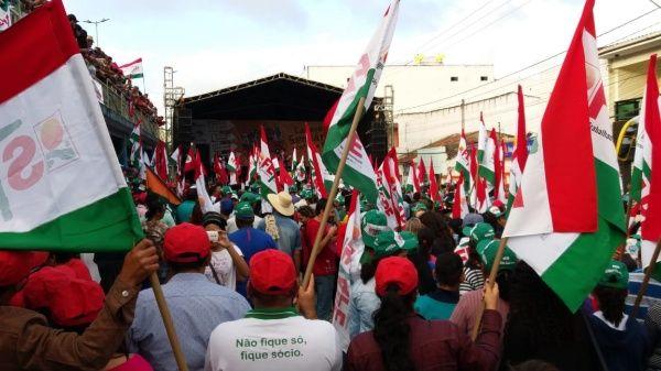 Caravana contra el Hambre recorre Brasil en rechazo a políticas de Temer
