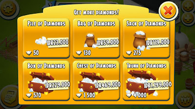 pembelian diamonds hay day gratis