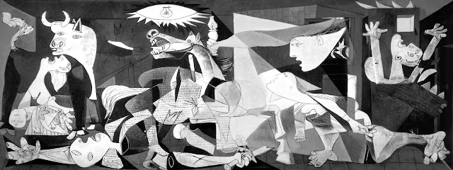 Image result for pablo picasso paintings cubism guernica
