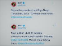 Pemuda Muhammadiyah Sesalkan Kampanye Stigma Negatif BNPT Terhadap Islam dalam Ucapan Selamat Idul Fitri