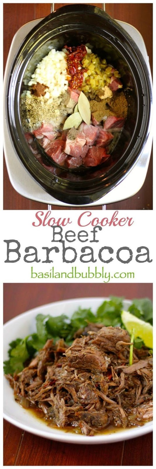 Slow Cooker Barbacoa #SLOWCOOKER #DINNER