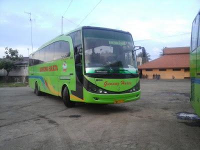 Bus gunung Harta Tujuan Jakarta-Banyuwangi