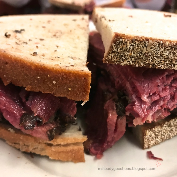 Katz's Deli - Iconic pastrami on rye - New York City | Ms. Toody Goo Shoes