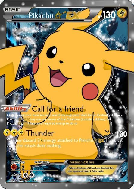 Deviantart More Like Pikachu Gold Star Ex By Pikachupokemon