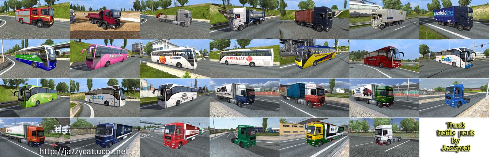 Truck Traffic Pack