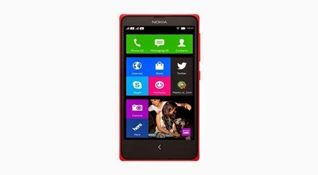 Bagi para pecinta gadget pastinya kehadiran ponsel Nokia yang berbasis OS Android sangat  Spesifikasi dan Harga Nokia X Terbaru 2014