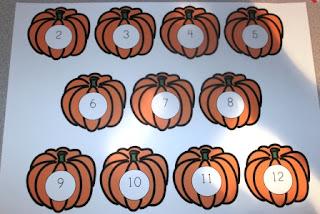 Pumpkin Dice Game