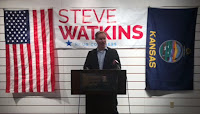 Steve Watkins, Republican nominee for Kansas' second district in Congress