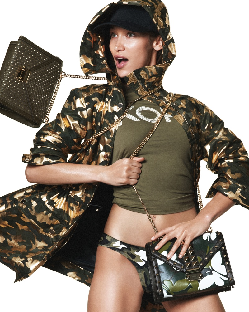 Michael Kors taps Bella Hadid for spring 2019 advertising campaign
