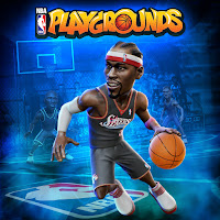 NBA Playgrounds Game Logo