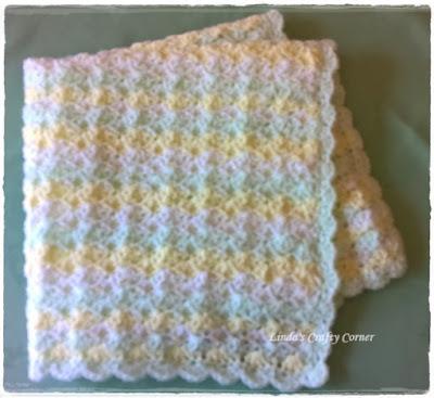 Lindas Crafty Corner Little Treasure Baby Blanket Pattern