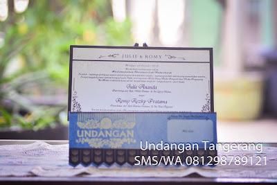 Cetak Undangan Pernikahan Murah di Taangerang