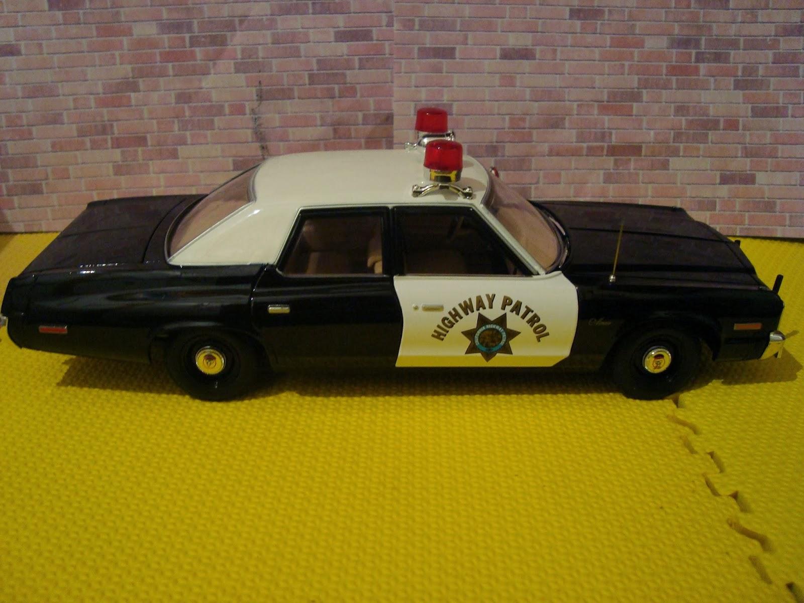 Diecast American Car Nutz!: 1974 Dodge Monaco CHP