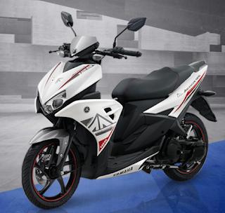 Yamaha Aerox 125 LC putih