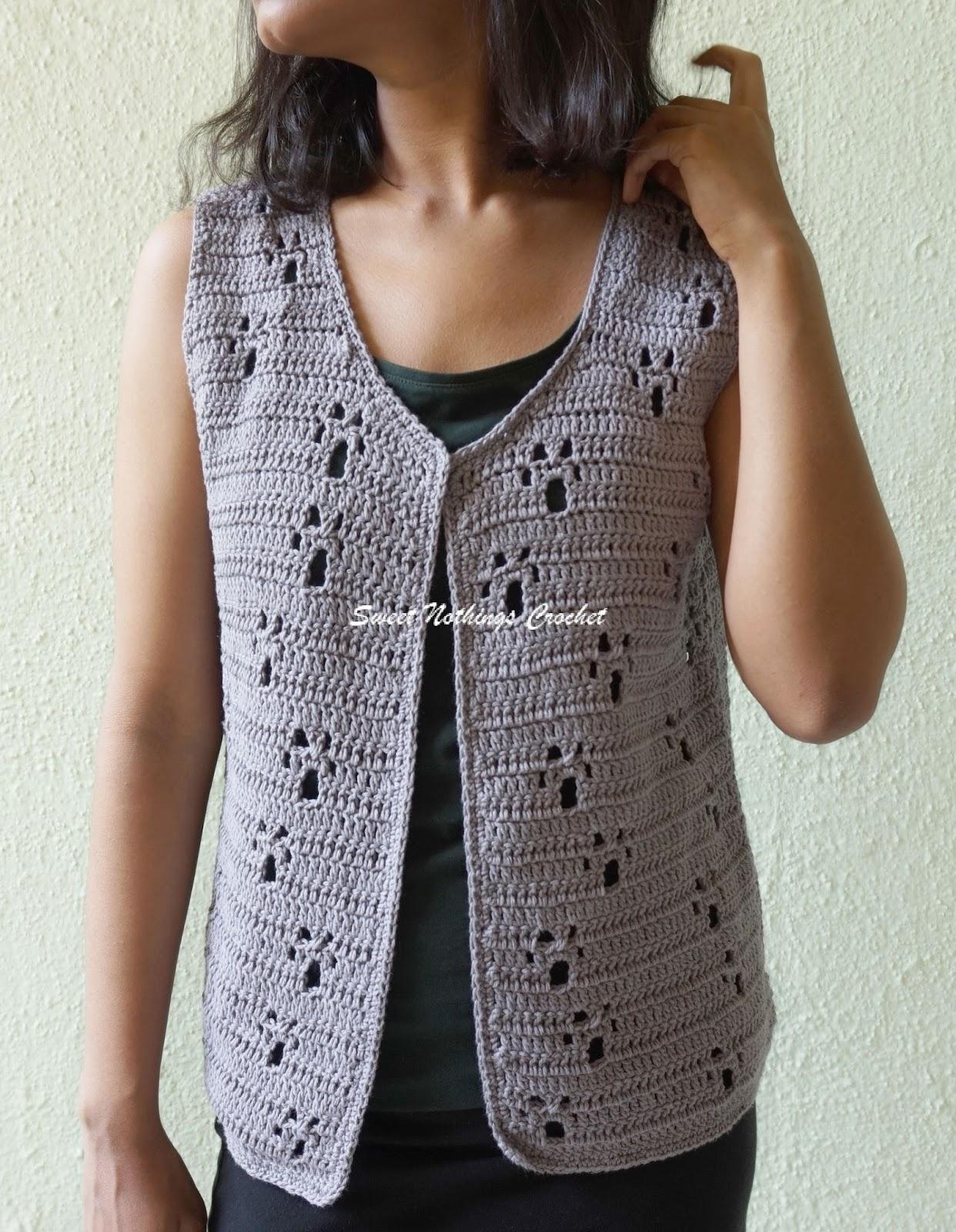 e60fbbe95fe13 Sweet Nothings Crochet  PAWZ JACKET
