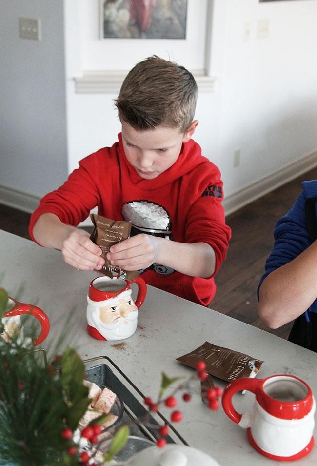Kid Friendly Hot Chocolate Bar Ideas