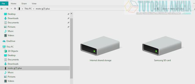 Mentransfer Data Dari PC atau Laptop ke Ponsel Android dengan kabel data