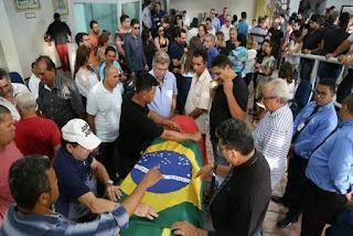 Corpo do deputado Rômulo Gouveia será enterrado nesta segunda-feira