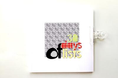 persnickety 5x5 mini book