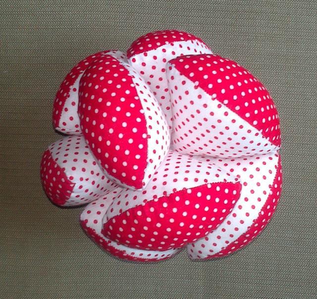Tutorial pelota patchwork