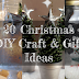 20 Christmas DIY Craft and Gift Ideas
