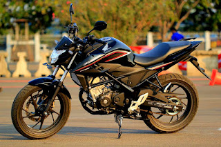 All New Honda CB150R Macho Black (Standar)