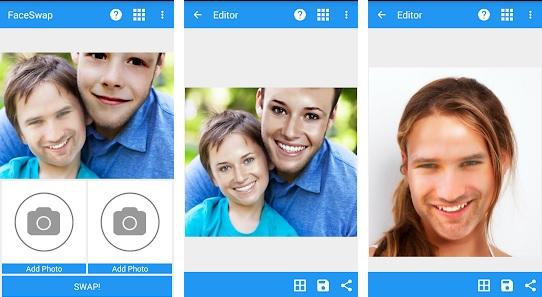 Aplikasi Face Swap Tukar Wajah di Hp Android dan iPhone