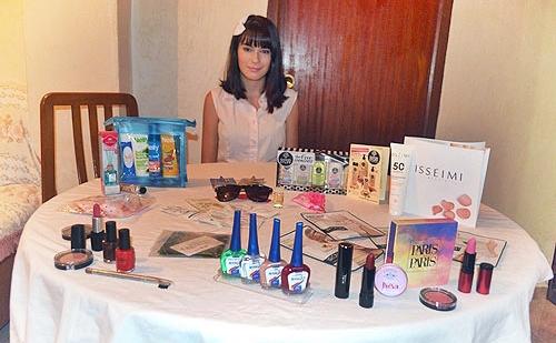 Chivando los regalos del último evento blogger Alicante Murcia :