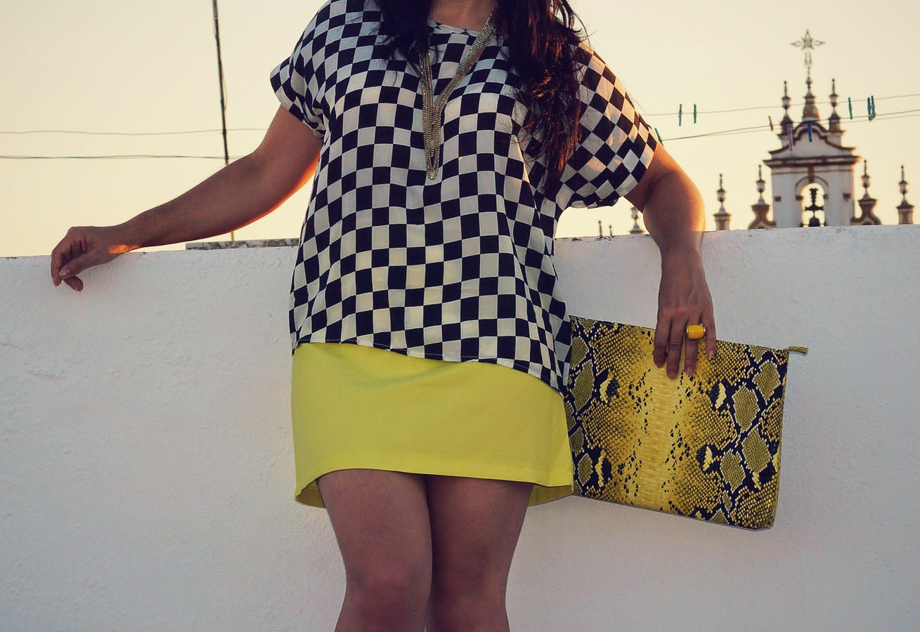 Oasap_Candy_Yellow_Skirt