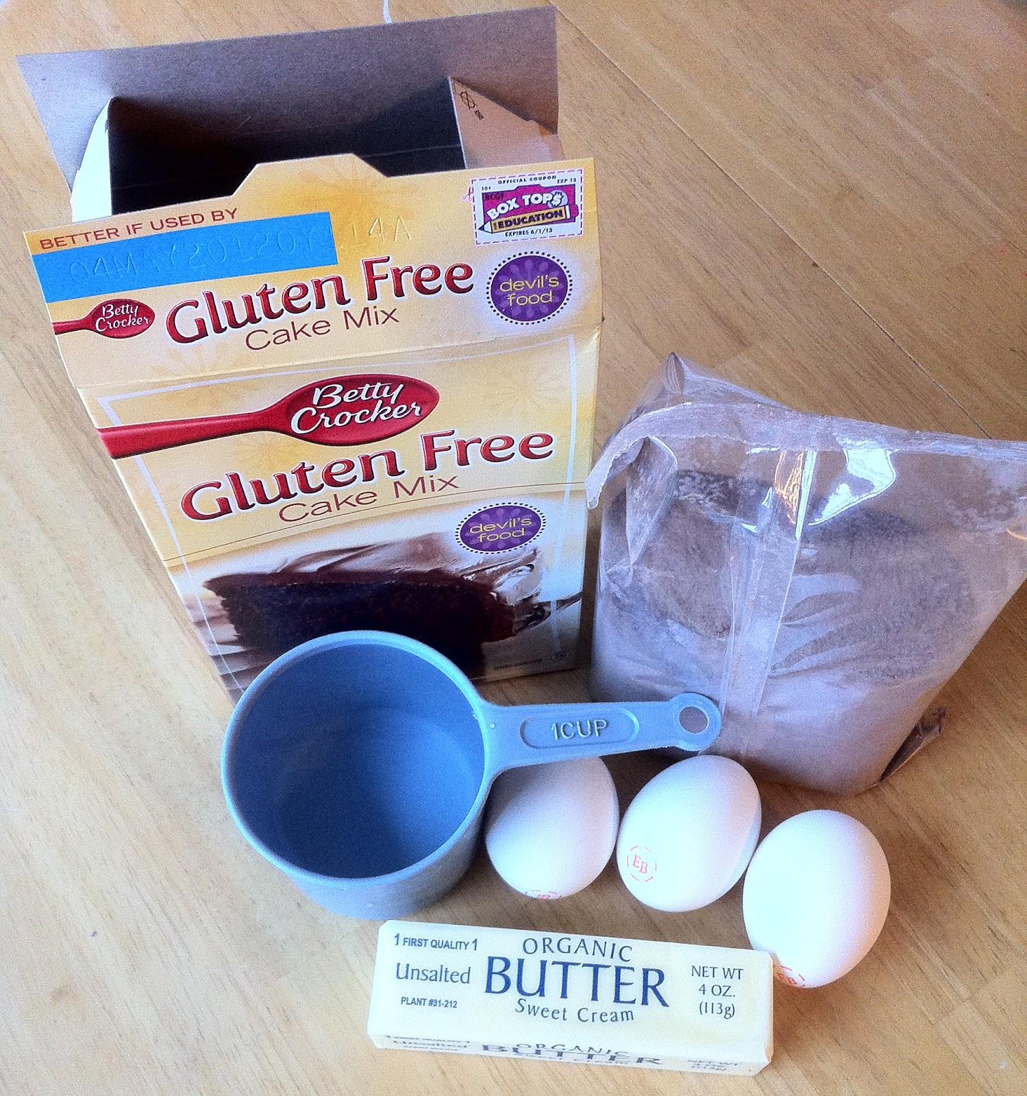 Betty Crocker Gluten Free Cake Mix and Easy Cupcake ...