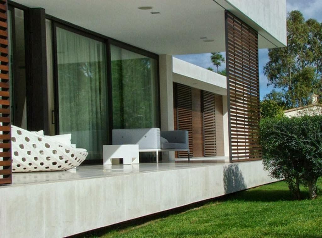 Contoh Gambar Desain Teras Rumah Minimalis 2014  Model