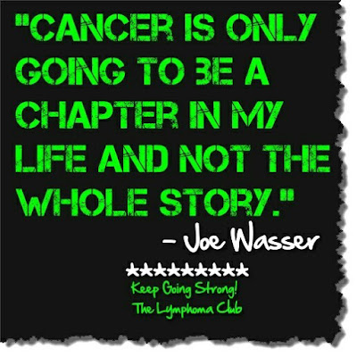Cancer is only going to be a chapter in my life, not the whole story. www.bellybuttonpanda.co.uk
