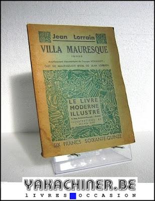 Jean Lorrain, villa mauresque