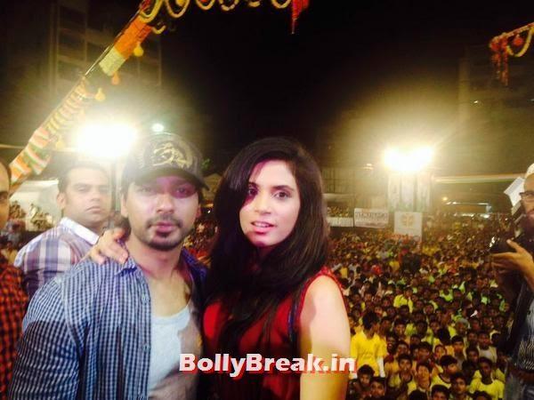 Richa Chadda and Nikhil Dwivedi