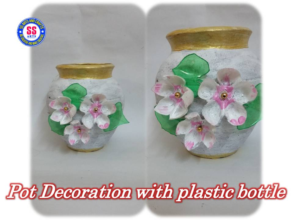 Ssartscrafts for Plastic bottles decoration pieces