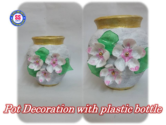 Here is plastic bottle crafts,plastic bottle wall decor,plastic bottle room decoration ideas,plastic bottle show pieces,plastic bottle lamp,plastic bottle pets,how to make pot decoration with plastic bottle flowers