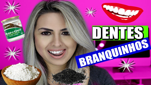 como clarear os dentes, como clarear dentes em casa, vivy rodrigues, blog da vivy