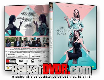 Um Pequeno Favor (2019) DVD-R OFICIAL