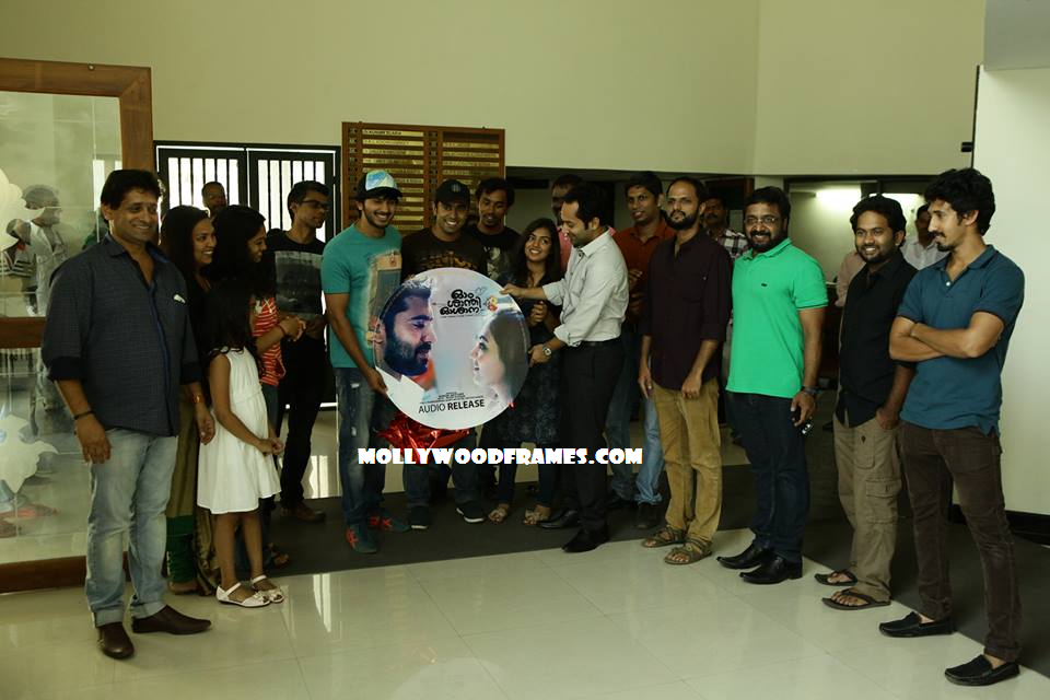 'Ohm Shanthi Oshaana' audio launched