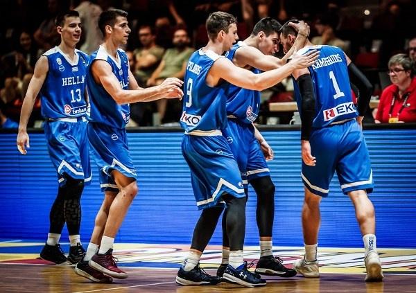 Εθνική Νέων Ανδρών: Ισλανδία-Ελλάδα 86-104