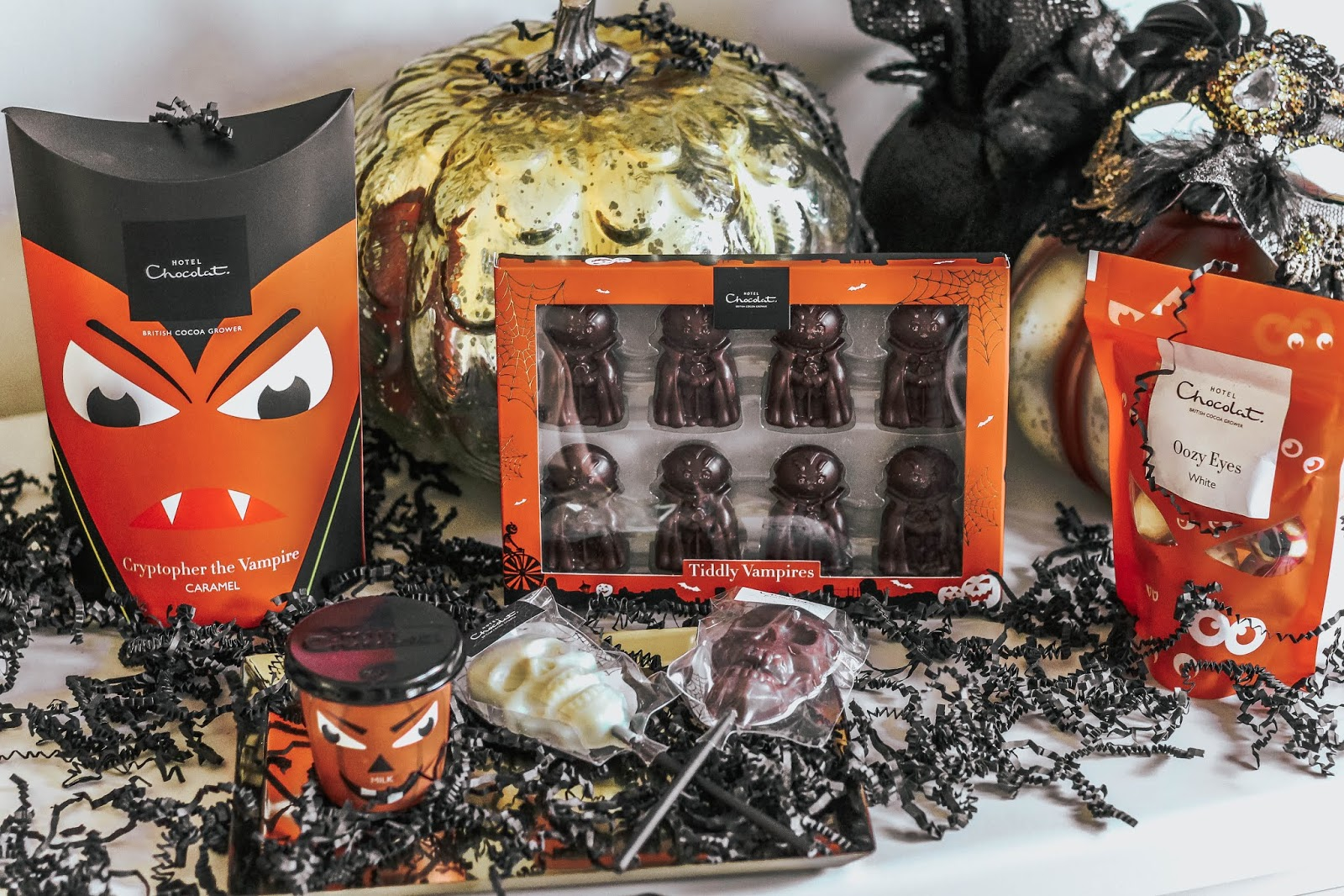 Hotel Chocolat Halloween Hamper 2018 Blog Giveaway