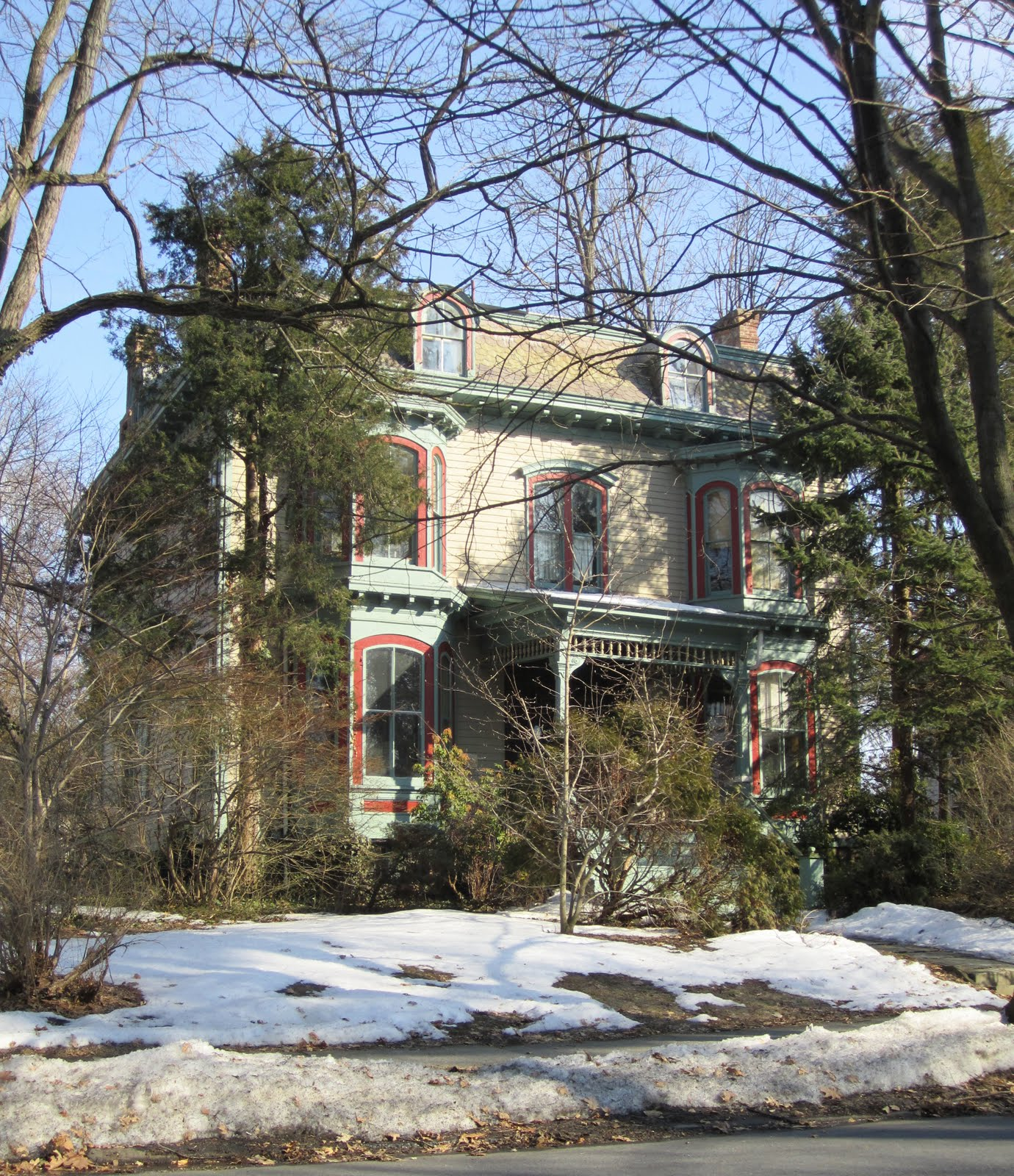 K Pok House Sute Architect: BIG OLD HOUSES: Poughkeepsie (1 Of 3