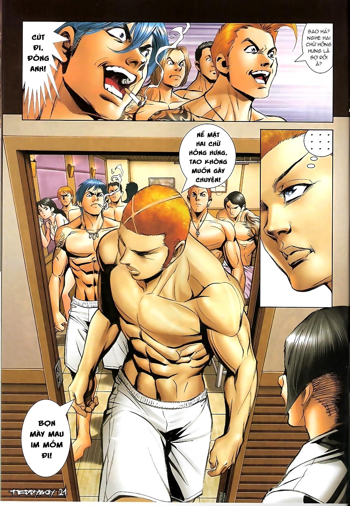 Người Trong Giang Hồ - Chapter 1322: Nói hung hăng - Pic 17