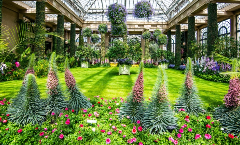 The Official Botanic Garden Of Rutgers: Flood Controls NY-NJ: Famous Public Gardens Around The