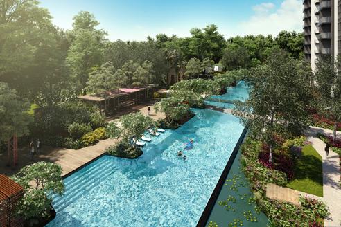 Parc Riviera Pool
