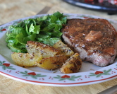 February - Lavender Steak & Lavender Potatoes
